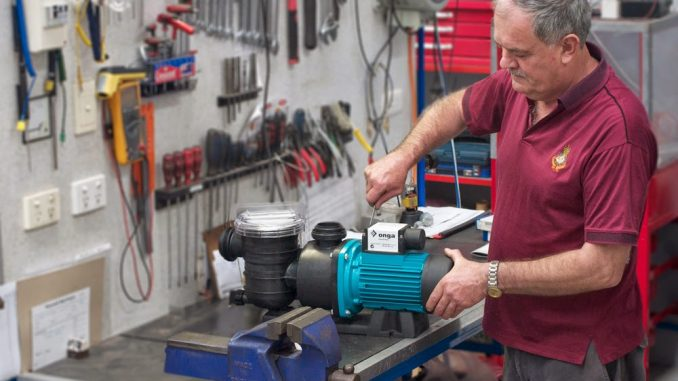 Cách sửa máy bơm không lên nước