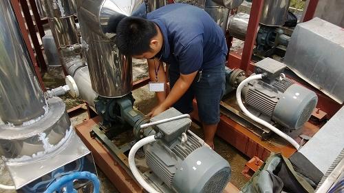 Sửa chữa máy bơm nước tại Đống Đa