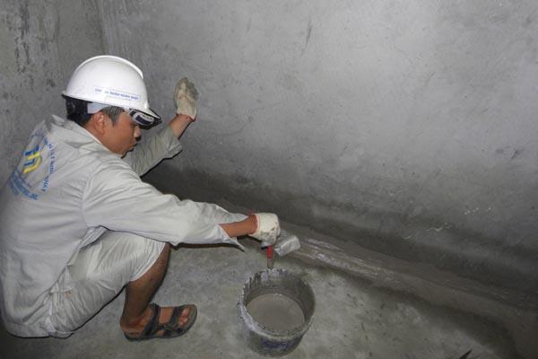 Chống thấm nhà vệ sinh tại Quận Thanh Xuân triệt để 100%, BH 20 năm