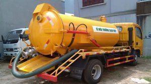 Hút bể phốt tại Quận Hoàn Kiếm