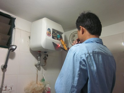 Sửa bình nóng lạnh tại Xuân Thủy