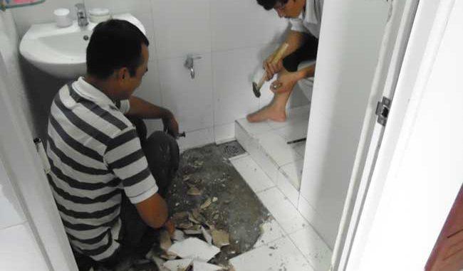 Chống thấm nhà vệ sinh tại Quận 3 triệt để 100%, BH trọn đời 0979227098