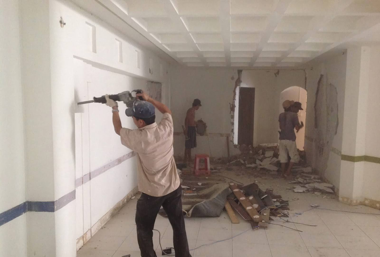 Sửa chữa nhà tại Quận Hoàng Mai