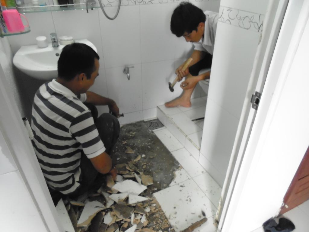 Sửa chữa nhà vệ sinh tại Quận Cầu Giấy