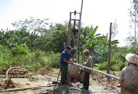 Khoan giếng tại Lạng Sơn