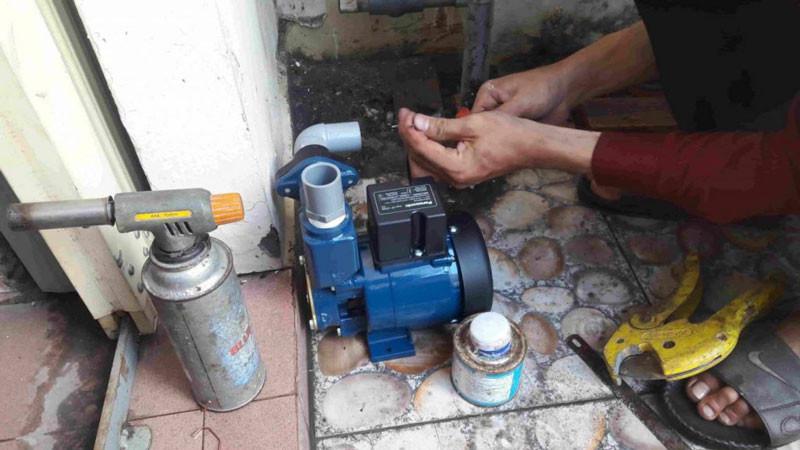 Lắp đặt máy bơm nước tại Quận Cầu Giấy
