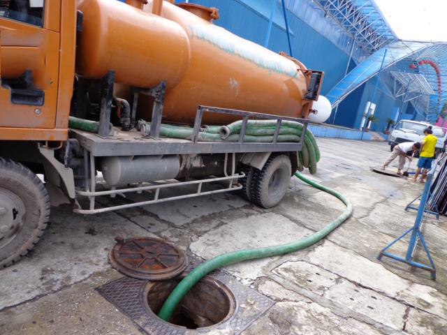 Quy trình hút bể phốt tại Phú Lương